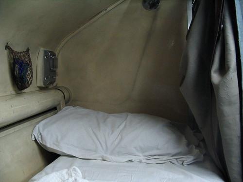 El tren, el llit i la fred