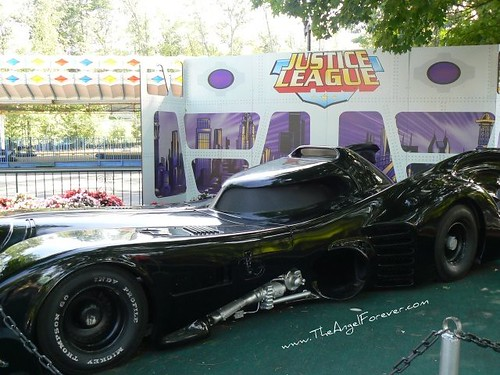 Batmobile siting along the way