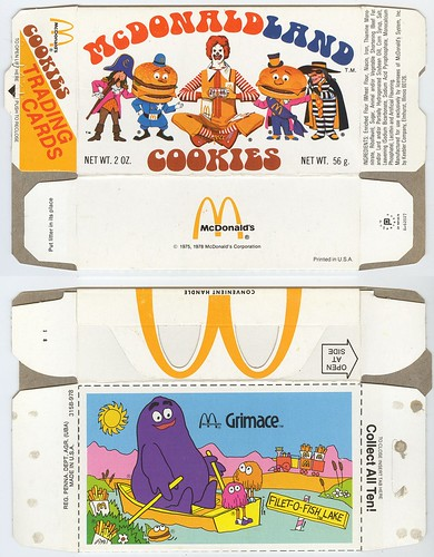 McDonaldland Cookie Box