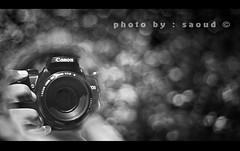 ...      (Saoud  back !) Tags: camera bw canon bokeh