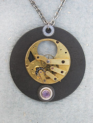 Steampunk Jewelry movement #1