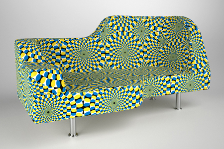 2918152065 5f63214c3e o Furniture that could make your feel dizzy : Hypnose Sofa