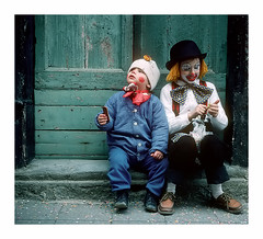 Little Clowns (Piero Calzona) Tags: little bambini clowns carnevale pagliacci
