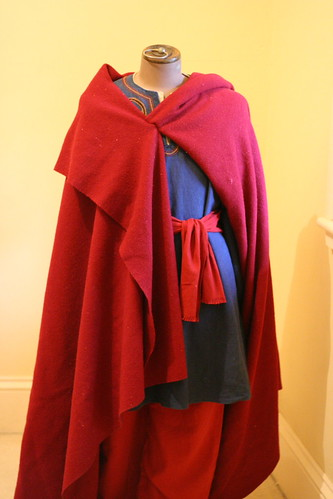 Embroidered Viking Tunic, Under Tunic, Braies & Cloak
