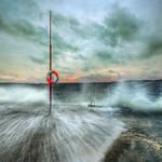 The roaring sea I | HDR