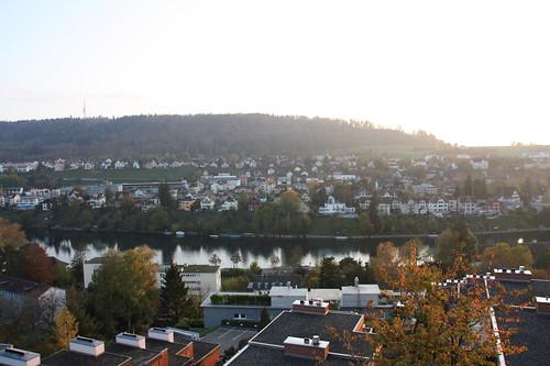 Ausblick auf Schaffhausen