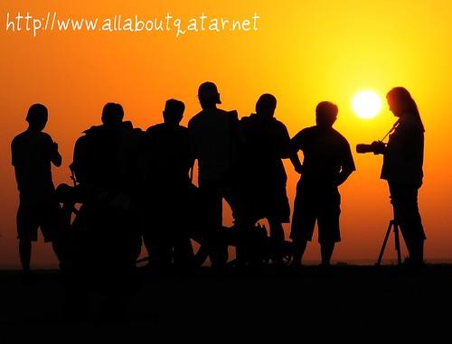 Sunset at Fort Zubara