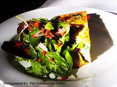 Breakfast Fritatta (phil_sidenstricker) Tags: cheese breakfast salad naturallight eggs spinach donotcopy valleyofthesunphoenixmetro upcoming:event=981998 southmountainfarmphoenixazusa
