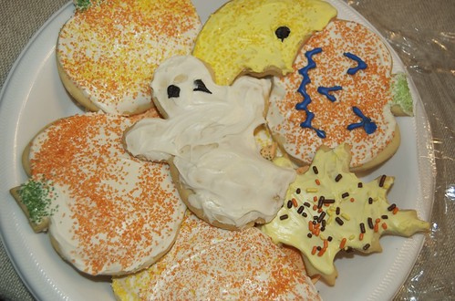 halloween sugar cookies from grandma