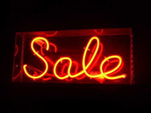 Retail/Sale sign