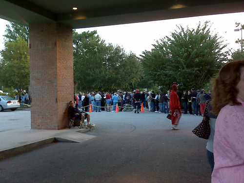 Early Voting Line 11/1/08