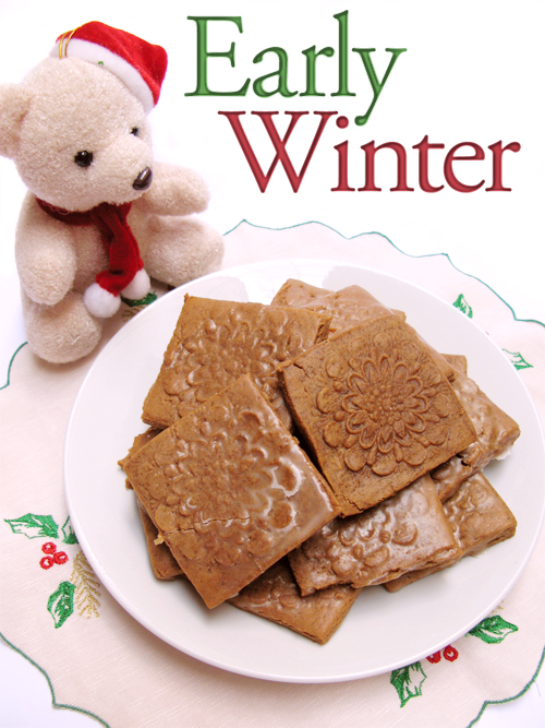 Soft Glazed Gingerbread