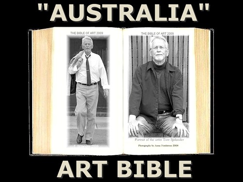 """AUSTRALIA"" THE MOVIE ART BIBLE 2009 by 2007 TURE SJOLANDER 2008"