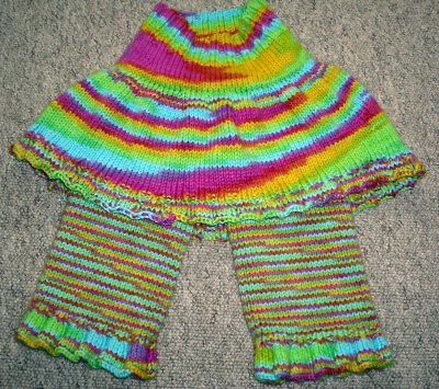 Rainbow tester skirty