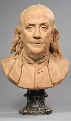 Franklin Bust by Houdon