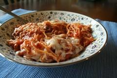skillet baked pasta
