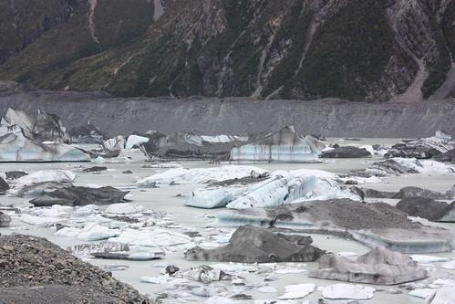 Tasman Glacier Lake Eisberge