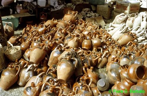 Ausonia (FR), 1981, mercato in località Santa Maria del Piano.