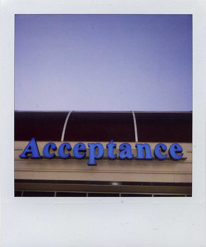 acceptance by recovering lazyholic