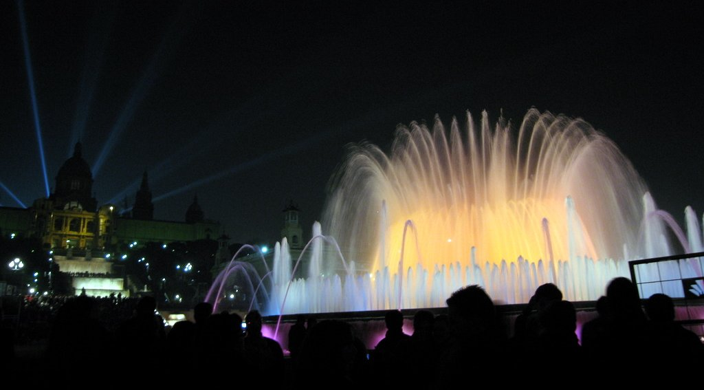 Catalan Art Museum and Magic Fountains