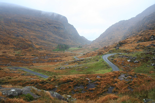 road though the Gap of Dunloe
