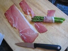 roll, roll, roll my asparagus