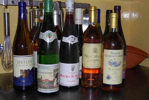 gekregen wijn...gootsteenwijn of...?