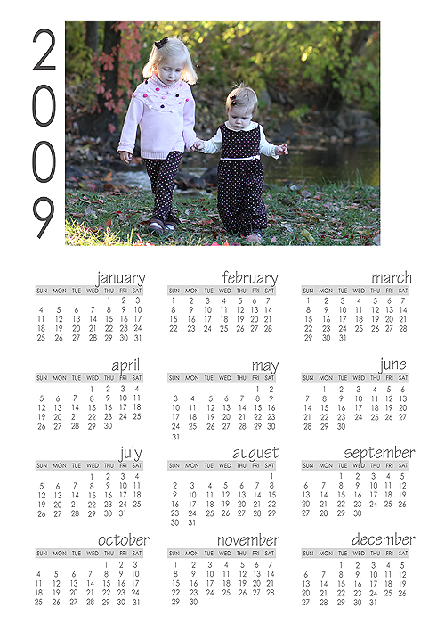 Calendar horizontal copy