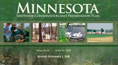 MN Statewide Conservation Plan cover