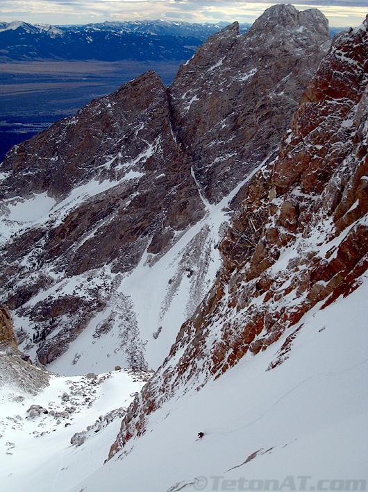 Reed skis Teepee Glacier
