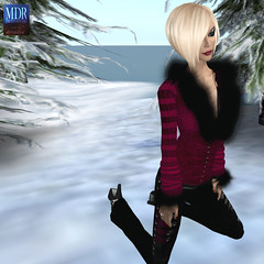 Gothicatz Stage 1 (Arcadia Nightfire) Tags: winter fashion avatar secondlife mdr tesla theabyss mdrstudio gothicatz arcadianightfire glamourazzi