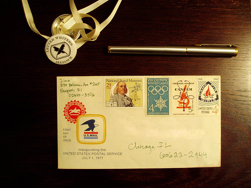 vintage postal goodness for the LWA