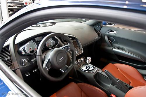 Audi R8 Interior Nice Ride