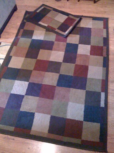 Blue Brown Area Rugs