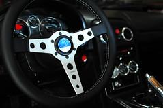 Birthday goody (revlimit) Tags: car wheel vintage silver momo nikon steering interior mazda vivitar mx5 prototipo d300 vivitarseries1 sharka 28mm19