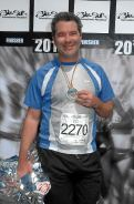 Ed at Big Sur Marathon