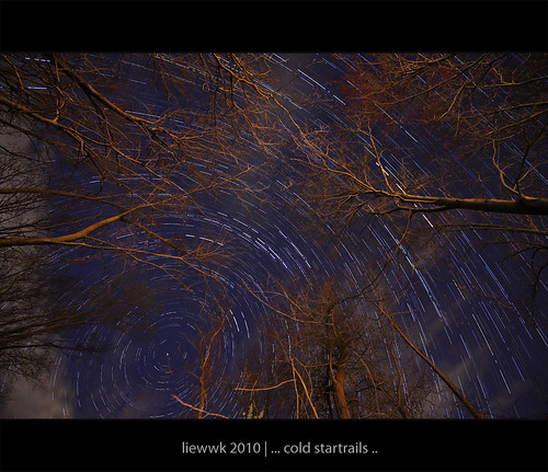 ... a cold Startrails ...