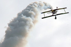 Air Show: Gene Soucy and Wingwalker Theresa Stokes