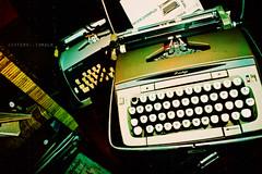 Old Poet (-jitters) Tags: old typewriter writing vintage word words letters type writer write wornout