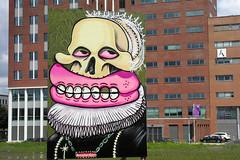 streetart (wojofoto) Tags: streetart holland amsterdam graffiti nederland billboard netherland asa sloterdijk 2011 wolfgangjosten sweettoof wojofoto