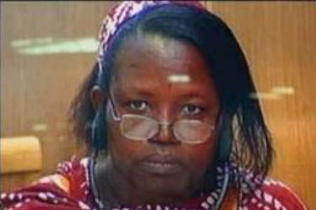 Pauline Nyiramasuhuko has been convicted of genocide stemming from the civil war in Rwanda during 1994. It is reported that a million people may have died in the fighting. by Pan-African News Wire File Photos