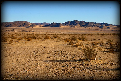 El desierto de Mojave