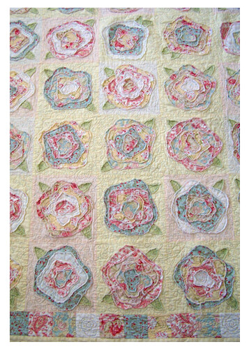 Pretty Ditty Thoughts From A Shabby Quilt Delectable Rose Quilt Pattern