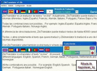 ZikiTranslator   Tra cứu một lúc 8 ngôn ngữ