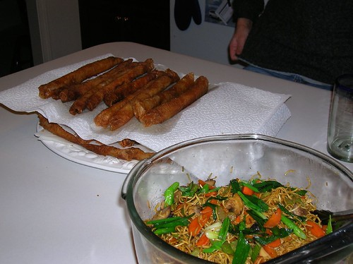 Lumpia and Pancit party