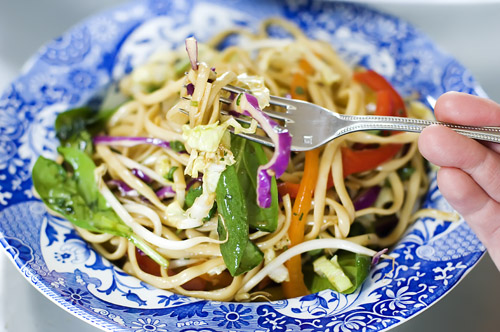 Tracey Broome : Asian Noodle Salad