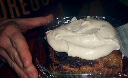 Would You Like Some Cinnamon Roll With Your Frosting?