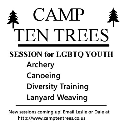 Elaine, camp ten trees