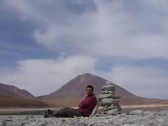 Salar Uyuni tour - laguna verde