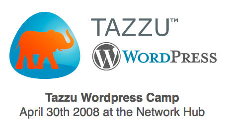 Tazzu WordPress Camp